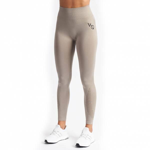 Vanquish Virtue Seamless Damen Fitness Leggings Khaki