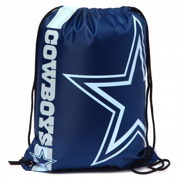 Dallas Cowboys NFL Drawstring Backpack Gym Bag LGNFLCLGYMDC
