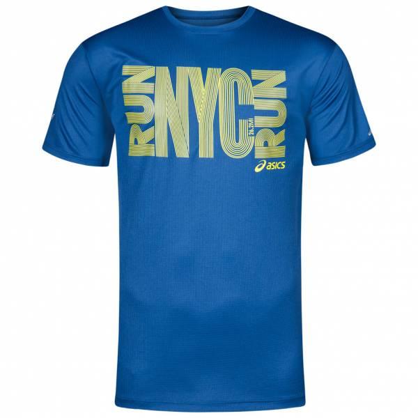 ASICS New York City Marathon Graphic Herren Fitness T-Shirt MR1530M-51