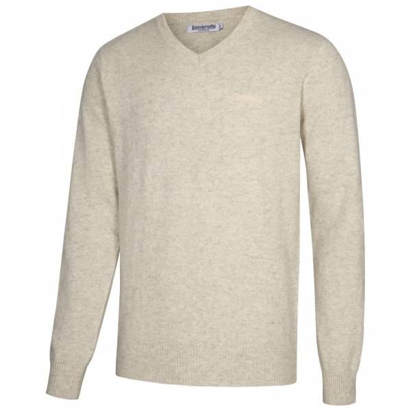 Lambretta Lambswool Sweater Herren Lammwolle Sweatshirt RWIK0045-ICE MARL