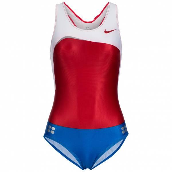 Nike Damen Leotard Leichtathletik Einteiler 713655-612