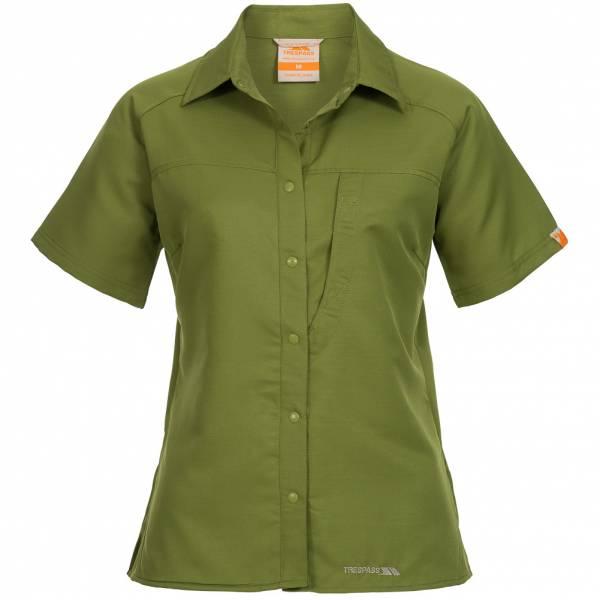 TRESPASS Damen Outdoor Shirt CoolMax Methven grün