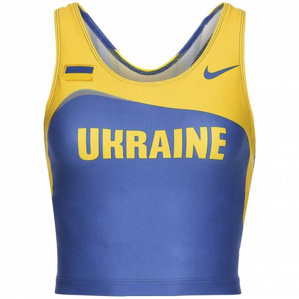 Top de soutien-gorge de survêtement Nike Athletics pour Ukraine 203640-460