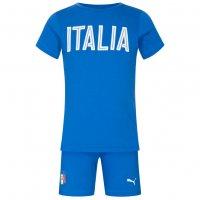 Italien PUMA Baby Set Shirt + Shorts Azzurri 750052-01