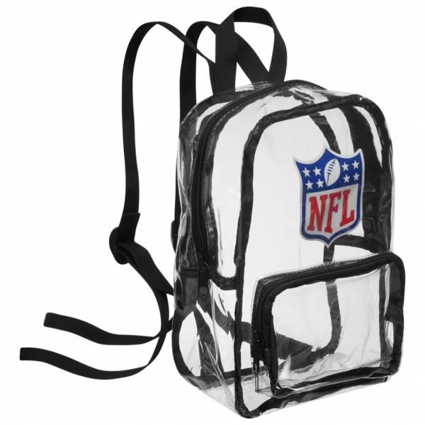 NFL Mini Fan Rucksack durchsichtig BPCLRNFMININFLKB