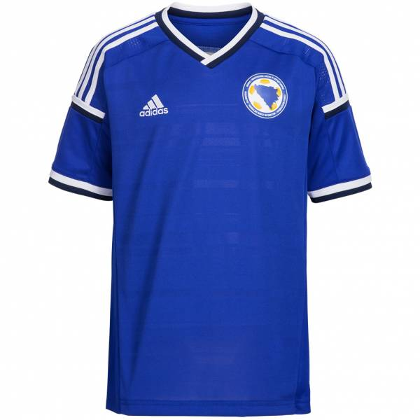 Bosnia & Herzegovina adidas children replica player home jersey B21204
