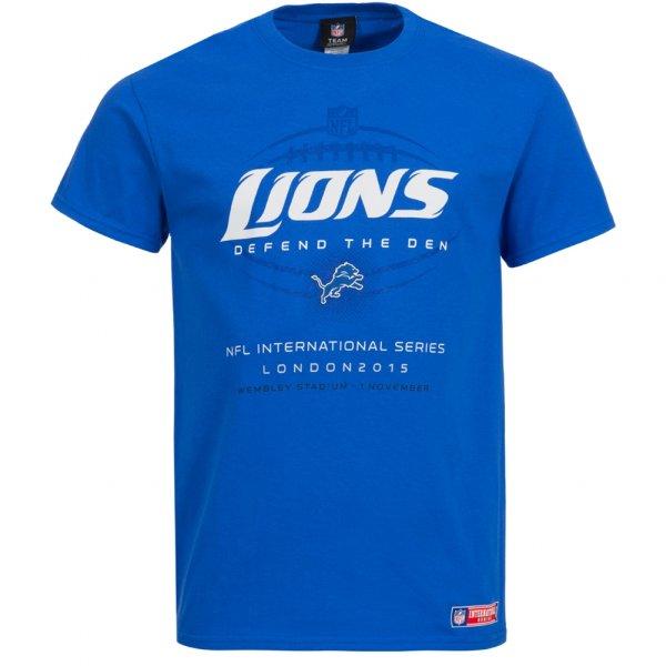 Detroit Lions Majestic Herren T-Shirt NFL