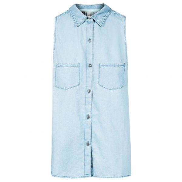 adidas NEO Selena Gomez Denim Bluse Shirt M32066