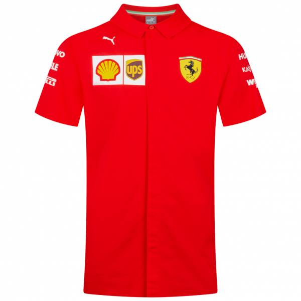 PUMA Scuderia Ferrari Men Team Short-sleeved Shirt 763019-02