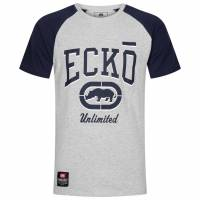Ecko Unltd. Corvette Herren T-Shirt ESK4489 Ath Grey Marl
