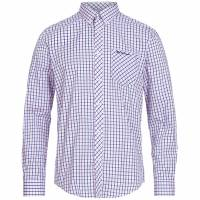BEN SHERMAN Heren Overhemd met lange mouw 0062088-510 roze