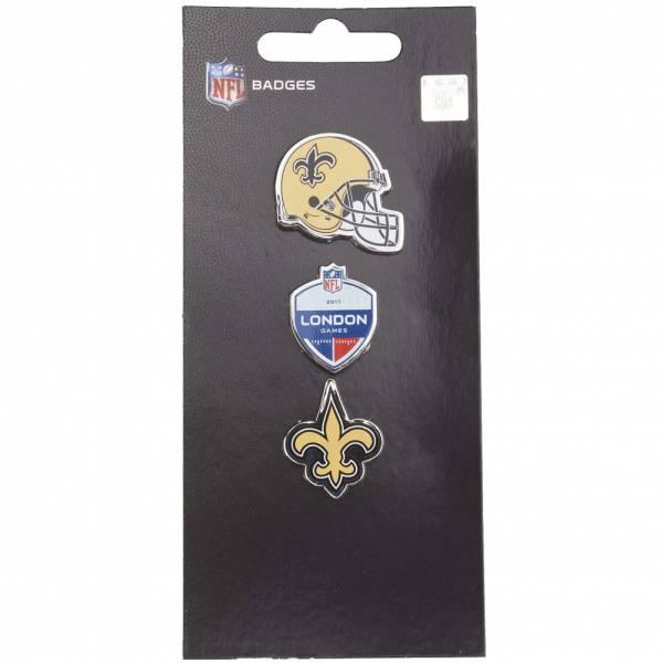 New Orleans Saints NFL Metall Pin Anstecker 3er-Set BDNF3HELNS
