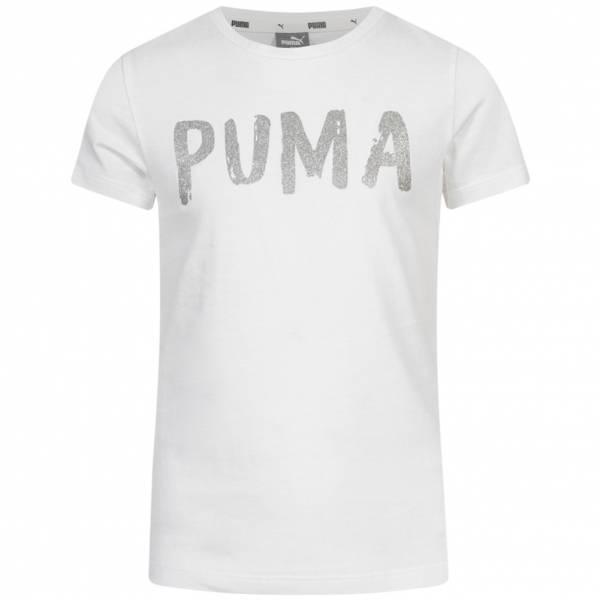 PUMA Alpha Tee Mädchen T-Shirt 582758-02