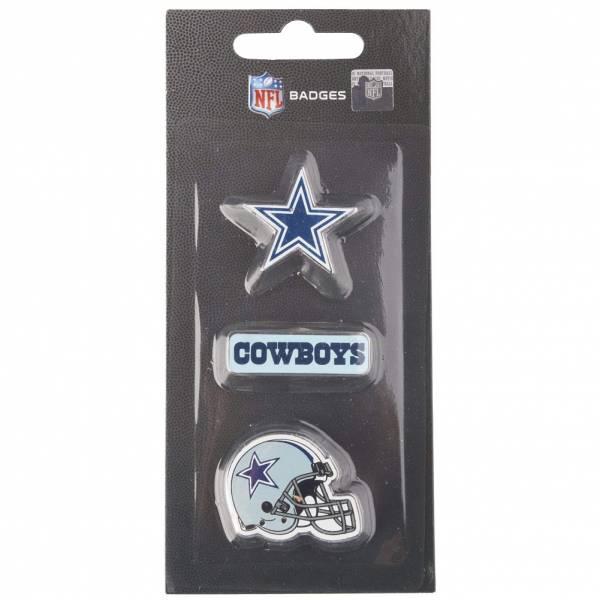 Dallas Cowboys NFL Metall Pin Anstecker 3er-Set BDNFL3PKDC