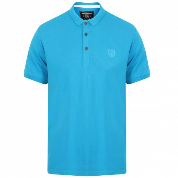 Kensington Eastside Lewisham Herren Polo-Shirt 1X10689 Marble Blue