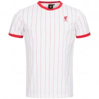 Liverpool FC Majestic Retro Trikot Pinestriped Jersey weiss
