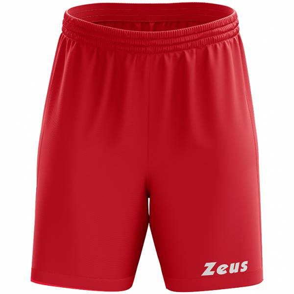 Zeus Mida Short d'entraînement Rouge