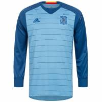 Spain adidas Men  Home Goalkeeper Long-sleeved Jersey Player Issue AA0795