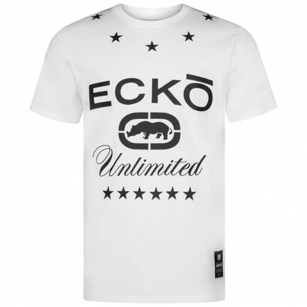 Ecko Unltd. Logostar Graphic Tee Herren T-Shirt ESK4372 White