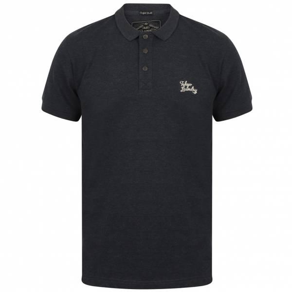 Tokyo Laundry Kuusamo Men Polo Shirt 1X11517A Mood Indigo