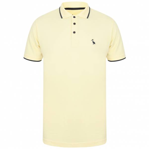 South Shore Baser Herren Polo-Shirt 1X12439 Pale Yellow