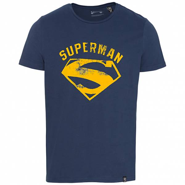 GOZOO x Superman Herren T-Shirt GZ-1-SUP-246-M-BL-1