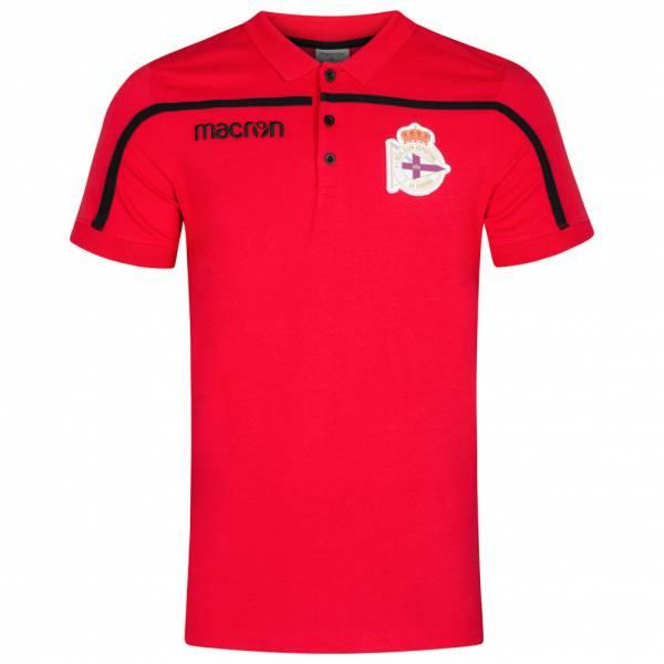 Deportivo La Coruna macron Herren Fan Polo-Shirt 58026936
