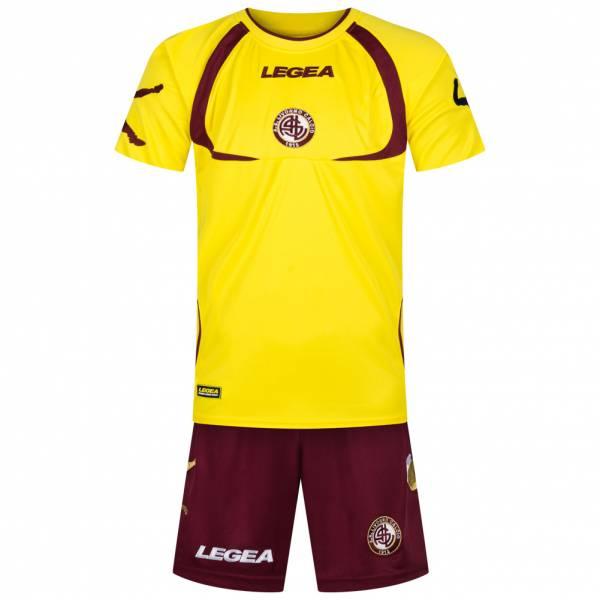 AS Livorno Calcio Legea Herren Trainings Set 2-teilig 6306 Gelb