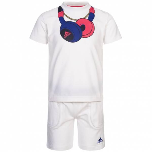 adidas Headphone Baby Sommer Set Shirt + Shorts P06514