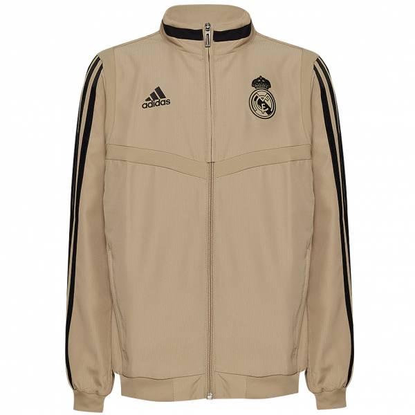 Real Madrid adidas Kinder Präsentationsjacke EI7474