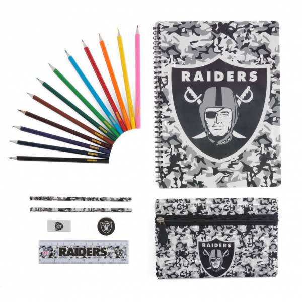 Oakland Raiders NFL Ultimate Schreibwaren Set STNFLCMULTMOR