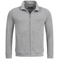 Pierre Cardin Herren Regular Fit Sweatjacke grau