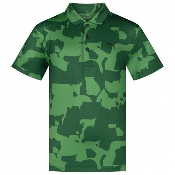Polo PUMA Golf Union Camo para niños 579308-01