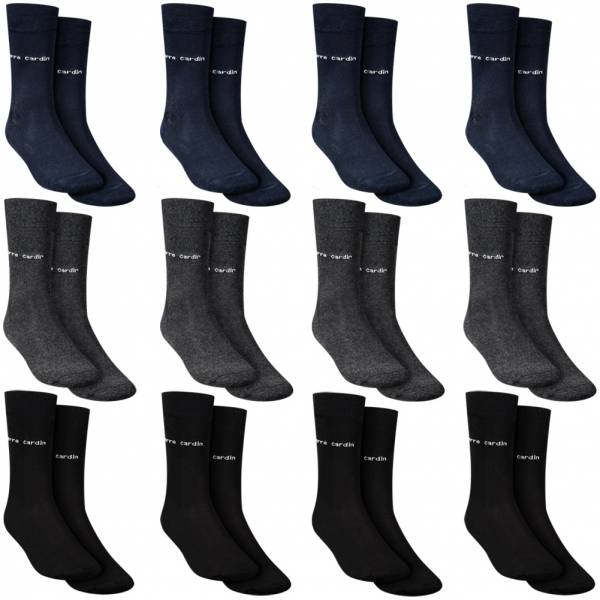 Pierre Cardin Pack of 12 Men Business Socks 1760-3-A