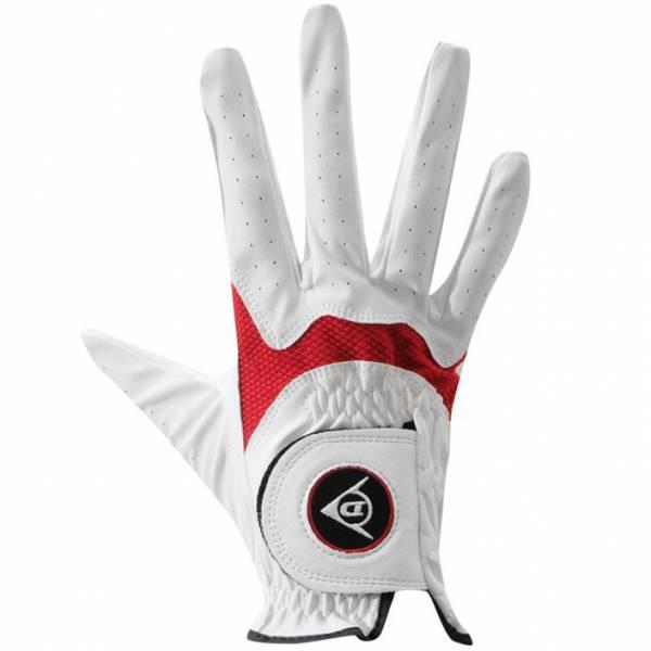 Dunlop Herren Golfhandschuh rechte Hand für Linkshänder weiß