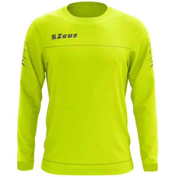 Zeus Enea Trainings Sweatshirt neongelb