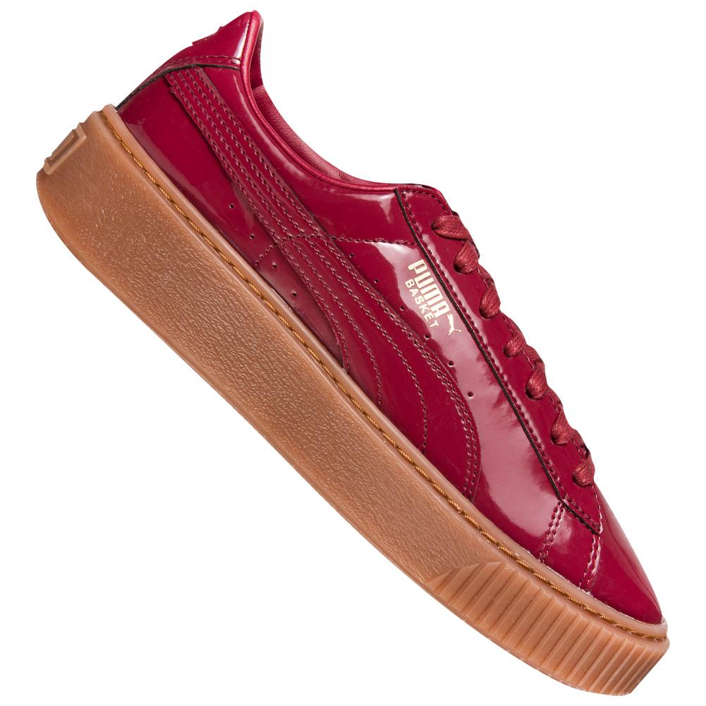 puma basket platform perf gum