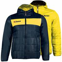 Zeus Giubbotto Apollo 2in1 Herren Wendejacke Navy Gelb