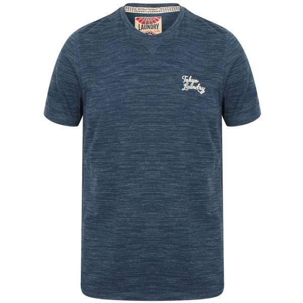 Tokyo Laundry Sun Lake Crew Neck Herren T-Shirt 1C11006 Navy