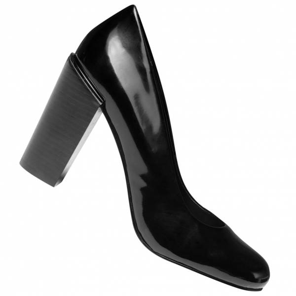 Calvin Klein Jeans Chade Patent Kobiety Buty na obcasie RE9746BLK