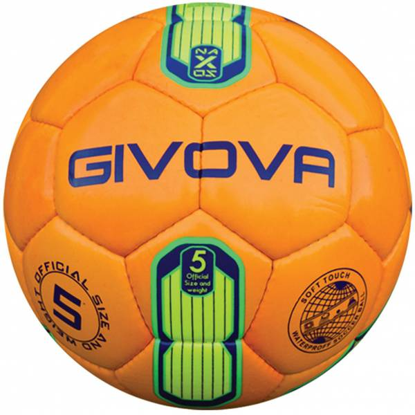 "Givova Ballon de foot ""Naxos"" néon orange / jaune"