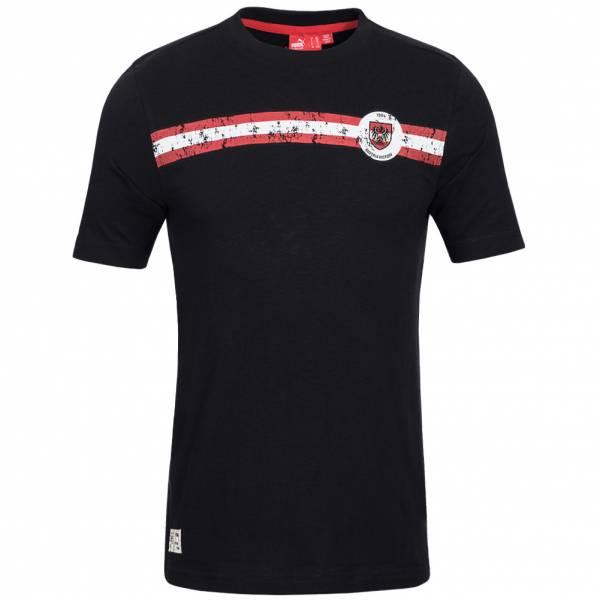 Österreich PUMA Kinder Fußball Graphic T-Shirt 733834-05