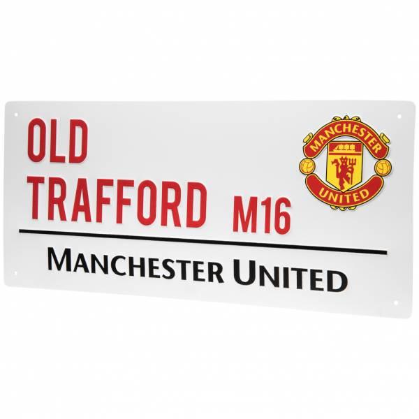 Manchester United FC Fan Straßenschild Street Sign WDEPLSSMNU