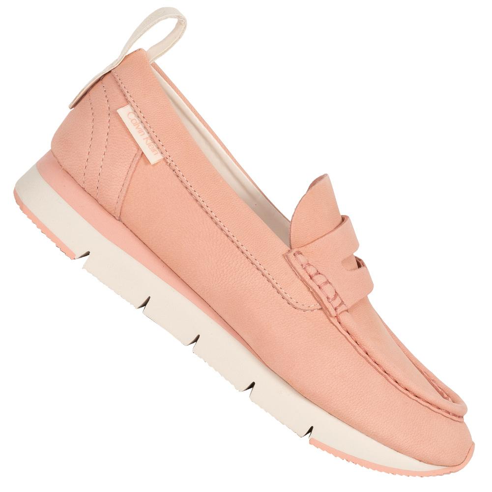 Calvin Klein Jeans Sonora Soft Damen Mokassin Sneaker RE9737BMN