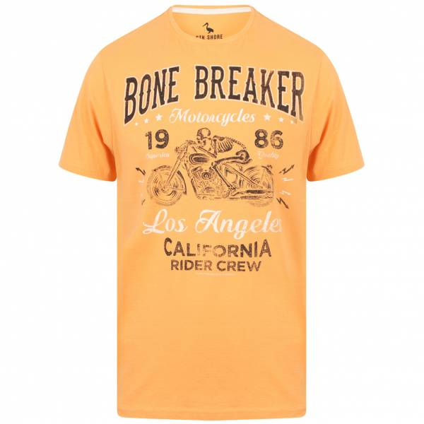 South Shore Bone Breaker Herren T-Shirt 1C12431 Peach