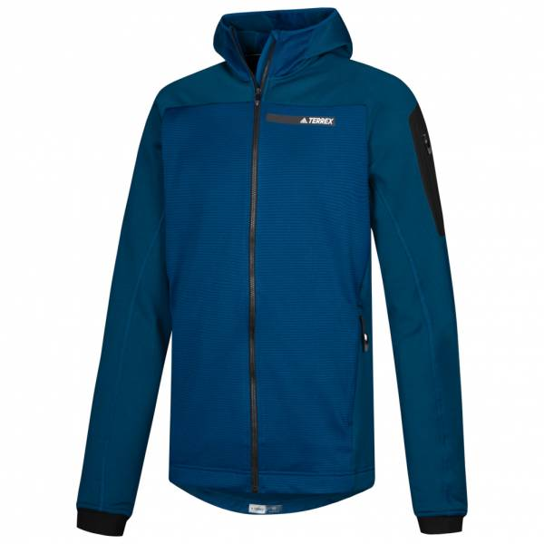 adidas Terrex Stockhorn Hooded Herren Outdoor Fleecejacke BS2502