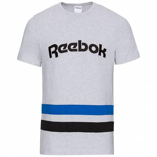 Reebok Herren gestreiftes T-Shirt BK3324