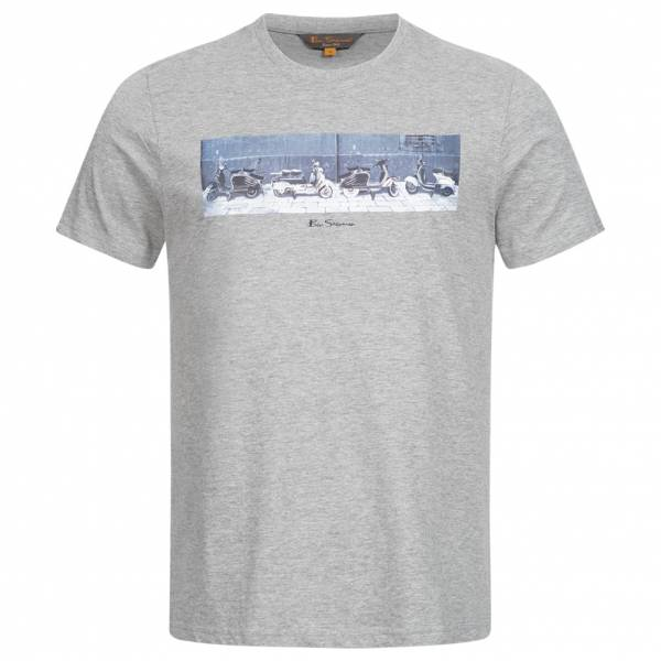 BEN SHERMAN Graphic Men T-shirt 0060999G-009 Gray Marl