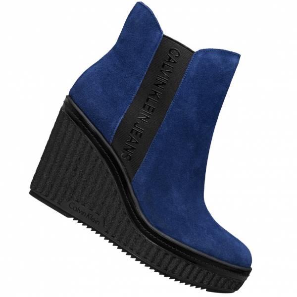 Calvin Klein Shanna Suede Women Wedge ankle boots RE9765OCN