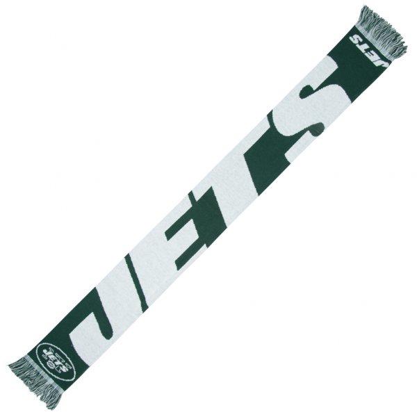 New York Jets NFL Scarf Wordmark Fan Schal SVNF14WMNJAM